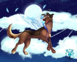 charlie - All dogs go to Heaven by HavickArt