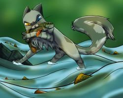 Naomi Fishing by Dust502