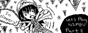 Miiverse Doodle #34 - Ice Physics by ChibiSkeven