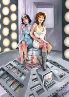 TARDIS sweethearts by Power-and-Chaos