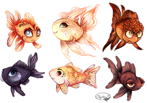 Goldfish by sharkie19