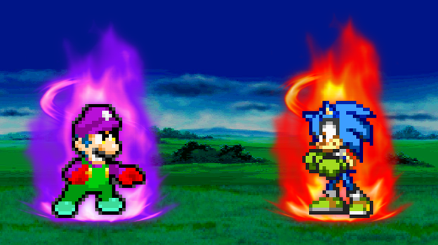 SuperShadeMario vs. Skyfire by SuperShadeMario