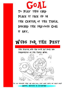 My little Fluxx - Wubs for the Pest by Jemrol