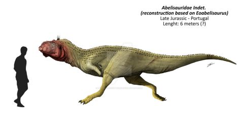 Indet. abelisauridae fron the lourinha formation by DefinetilyNotPedro