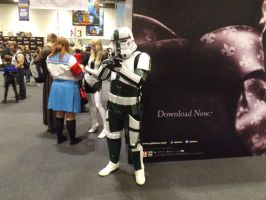 Stormtrooper Cosplayer by Collioni69