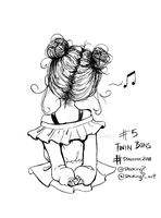 STALKINK2018 - DAY 05 [TWIN BUNS] by StalkingP