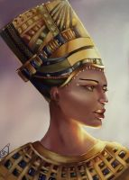 Hatsheput - The Woman Who Would Be Pharaoh by Forty-Fathoms