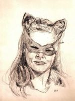 Catwoman by Gossamer1970
