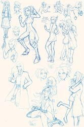 Ousia Verge sketches galore! by Mekari