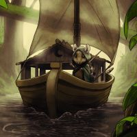 Leaving Home by JNathanIllustration