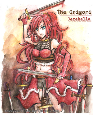 Contest Entry #15   Jezebella by TheGrigoriAnime