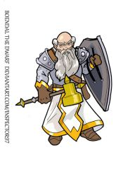 Boendal the Dwarf by Inspector97
