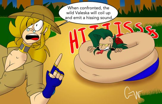 Into the wild with Nancy. by Comical-Weapon
