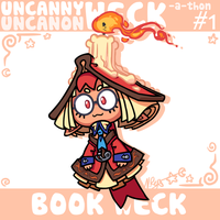 Uncanny Weck #1: Book Weck by The-Knick