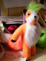 fox plush by jennovazombie