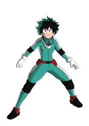 Deku by MightyFree