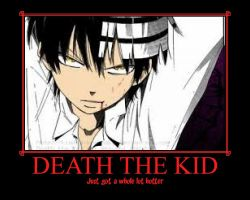 Death the Kid by Sure-And-Certain