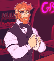 Human Grillby by TODD-NET
