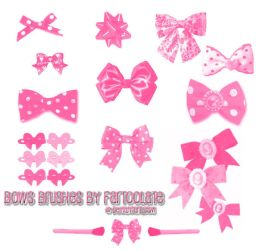 Bows Brush Set by fartoolate