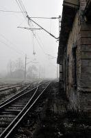 abandoned train station by AntanyMeed