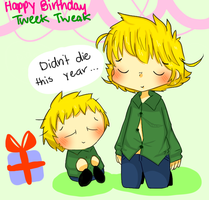 Tweek Bday by TweekPark