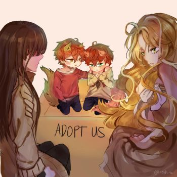 Mystic Messenger ADOPT US by xephirahart