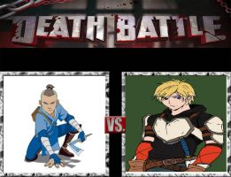 Request #76 Sokka vs Jaune by LukeAlanBundesen