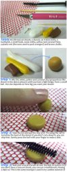 Clay Donut Charm - Tutorial by thinkpastel