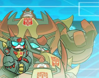 Transformers Animated-SNARL- by knightsfaith