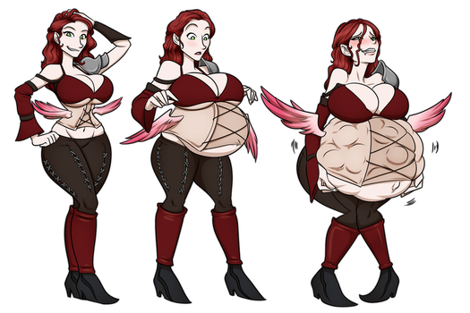 Katriel's Winged Girdle by RiddleAugust