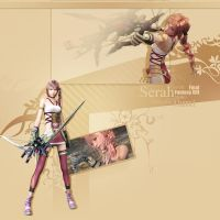 Serah FFXIII-2 FREE YouTube BG by demeters