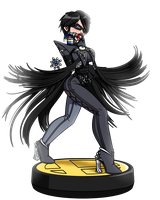 Amiibound Bayonetta Solo by Raver1357