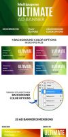 Multipurpose Ultimate Web Ad Banners by webduckdesign