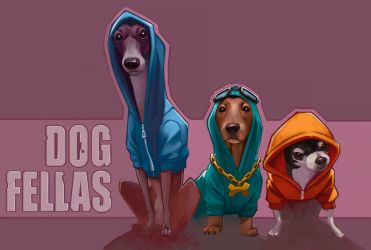DOG FELLAS by manerarts