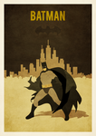 A3 poster batman by zpecter