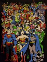 DC Comics T shirt by Curia-DD