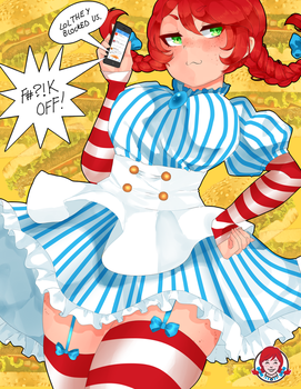 Smug Wendy's by Butteryshake