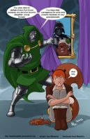 TLIID 295. Vader, Doom and Squirrel Girl's family by AxelMedellin