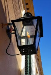 French Quarter Gas Lamp by chinopisces