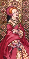 Tudor Lady No.6 by rinaswan