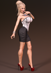 Danielle - Trophy Wife Makeover by SlimMckenzie
