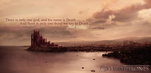 Game of Thrones Wallpaper - Syrio Quote by mrscrumbles