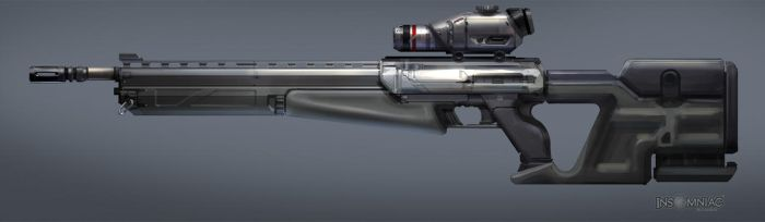 FUSE Unused Sniper Concept by MeckanicalMind