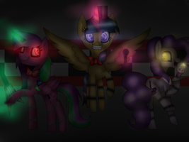 MLP Five Nights At Twilley's by GalaxySwirlsYT