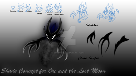 Shades Concept for Ori and the Lost Moon (PNG) by Joy144SK