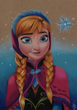 JUST ANNA (DISNEYS FROZEN by ARTIEFISHEL79