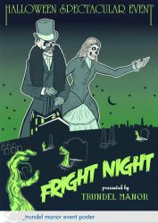 Fright Night at Trundel Manor by dschuler-creative