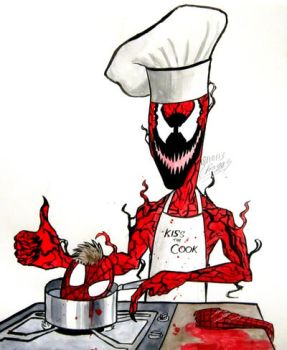 Cooking with Carnage! by Prince-of-Pork-117