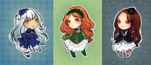 SpectralFairy Chibis by psycho-kitty