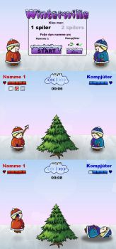 Flash game: Winterwille by nancy-kelpie